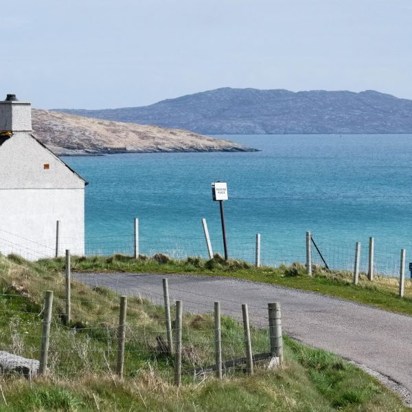 Isle of Barra cycling roads bike hire
