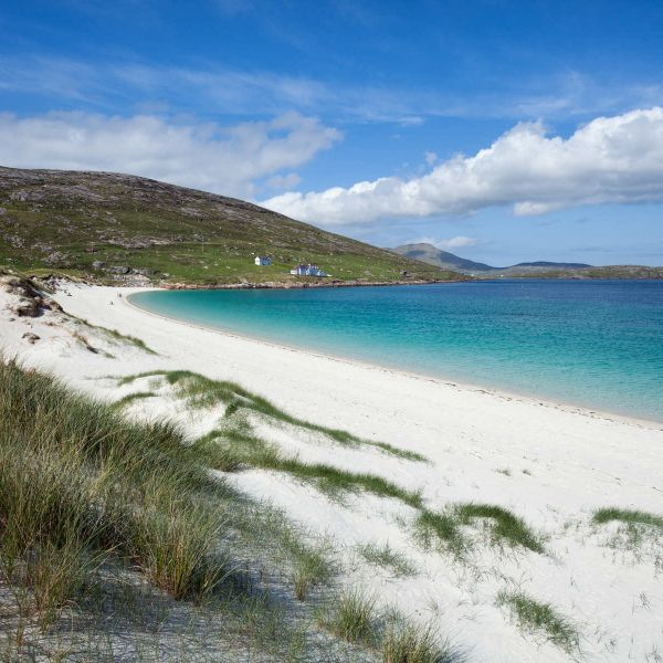 Isle of Vatersay beach explore by hire bicycle